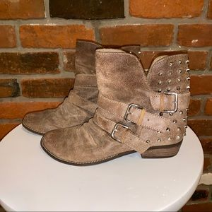 DV By Dolce Vita Tan Suede Bootie Size 8